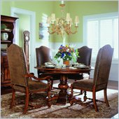 Hooker Furniture Waverly Place Round Pedestal Dining Table in Cherry