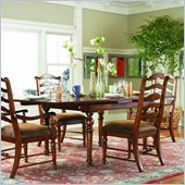 Hooker Furniture Waverly Place Refectory Dining Table in Cherry 