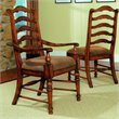 ADD TO YOUR SET: Hooker Furniture Waverly Place Ladderback Arm Chair in Cherry