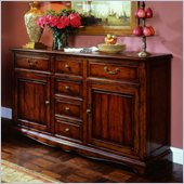 Hooker Furniture Waverly Place Buffet in Cherry 