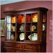 ADD TO YOUR SET: Hooker Furniture Waverly Place Glass Door Hutch in Cherry