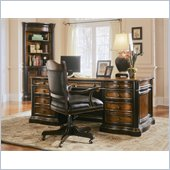 Hooker Furniture Preston Ridge Parquet Top Executive Desk