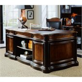 Hooker Furniture Preston Ridge Leather Top Executive Desk