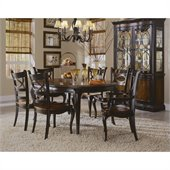 Hooker Furniture Preston Ridge Round Leg Dining Table