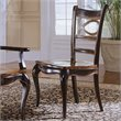 ADD TO YOUR SET: Hooker Furniture Preston Ridge Oval Back Side Chair in Cherry/Mahogany