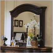 Hooker Furniture Preston Ridge Landscape Mirror  in Cherry/Mahogany