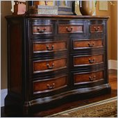 Hooker Furniture Preston Ridge 9 Drawer Mule Chest  in Cherry/Mahogany