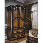 Hooker Furniture Preston Ridge Armoire in Cherry/Mahogany Finish