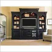 Hooker Furniture New Castle II 104 Inch Home Theater Group in Black