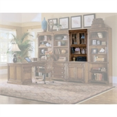 Hooker Furniture Brookhaven 32 Inch Door Hutch in Clear Cherry