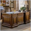 ADD TO YOUR SET: Hooker Furniture Brookhaven Executive Desk with Leather Top