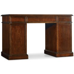 Hooker Furniture Bow Front Knee-Hole Desk