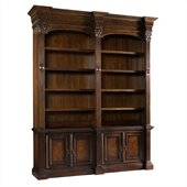 Hooker Furniture European Renaissance II Double Bookcase