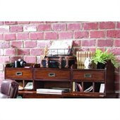 Hooker Furniture Danforth Smart Hutch in Rich Medium Brown