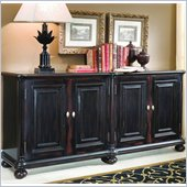Hooker Furniture Glenhill Four-Door Black Credenza