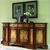 Hooker Furniture Glenhill Two-Tone Credenza w/2 Hidden Pullouts