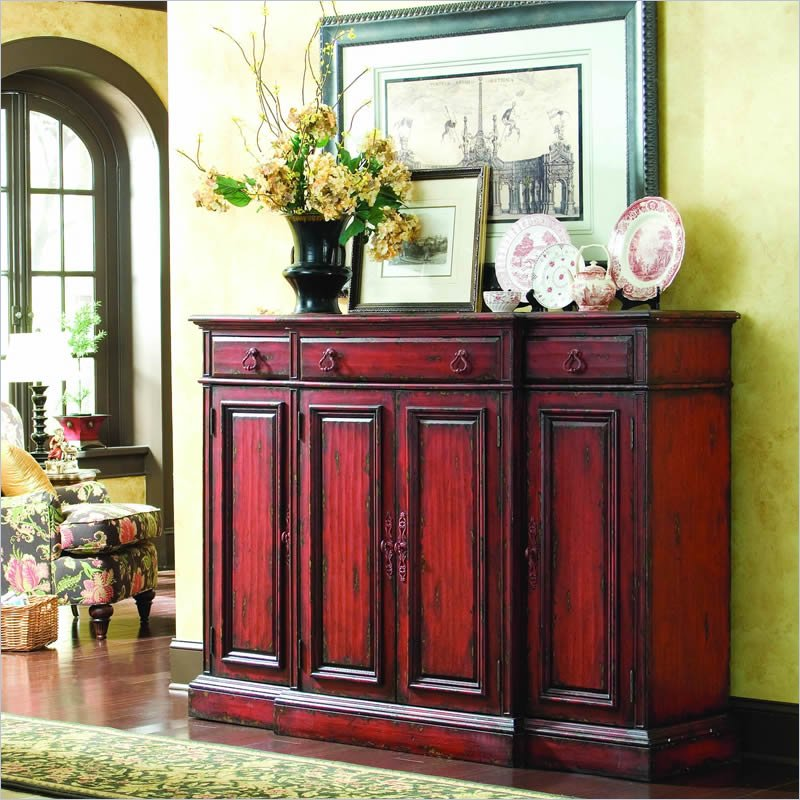 Hooker Furniture Vicenza 72 Tall Waisted Credenza