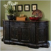 Hooker Furniture Black Serpentine Credenza 