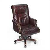 Hooker Furniture Seven Seas Executive Chair in Santana Castagna