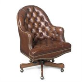Hooker Furniture Seven Seas Executive Chair in Derby Prairie Meadow