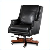 Hooker Furniture Seven Seas Executive Chair in Surreal Aragon Black