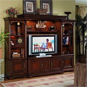 Hooker Furniturer Brookhaven Home Theater Group w/ 56 Inch Console