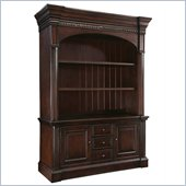 Hooker Furniture New Castle II Warm Brown Gaming Console 65  w/ Hutch
