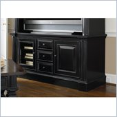 Hooker Furniture New Castle II Gaming Console 65 in Rich Rubbed Black