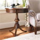 Hooker Furniture Seven Seas Round Pedestal Accent Table