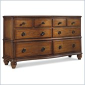 Hooker Furniture Primrose Hill Eight-Drawer Dresser in Villa Brown