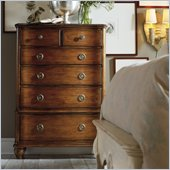 Hooker Furniture Primrose Hill Six-Drawer Chest in Villa Brown