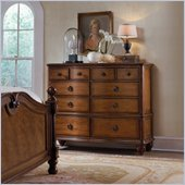 Hooker Furniture Primrose Hill Ten-Drawer Mule Chest in Villa Brown