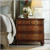 Hooker Furniture Primrose Hill Four-Drawer Bachelors Chest in Villa Brown