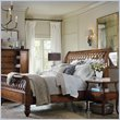ADD TO YOUR SET: Hooker Furniture Primrose Hill Lattice Sleigh Bed in Villa Brown