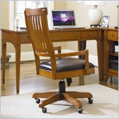 Hooker Furniture Abbott Place Desk Chair in Natural Cherry