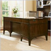 Hooker Furniture Abbott Place 66 Inch Wide Executive Desk in Cherry