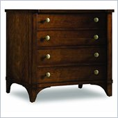 Hooker Furniture Abbott Place Lateral File Cabinet in Warm Cherry