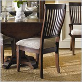 Hooker Furniture Abbott Place Slat Back Side Chair in Warm Cherry