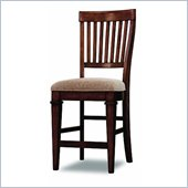 Hooker Furniture Abbott Place Slat Back Counter Stool