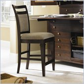 Hooker Furniture Abbott Place Upholstered Back Counter Stool