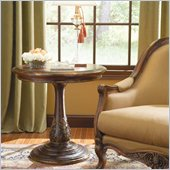 Hooker Furniture Beladora Round Accent Table in Caramel Finish