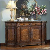 Hooker Furniture Beladora 76in Credenza in Caramel with Gold Tipping