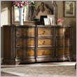 ADD TO YOUR SET: Hooker Furniture Beladora Dresser in Caramel with Gold Tipping