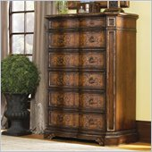 Hooker Furniture Beladora Six Drawer Chest in Caramel Finish