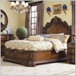 ADD TO YOUR SET: Hooker Furniture Beladora Platform Bed in Caramel with Gold Tipping