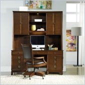 Hooker Furniture Felton Computer Credenza and Hutch Set