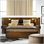Hooker Furniture Felton Wall Bed with Two Nightstands