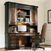 Hooker Furniture Grandover Computer Credenza and Hutch