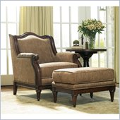 Hooker Furniture Grandover Chair and Ottoman Set