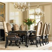 Hooker Furniture Grandover Rectangle Dining Table with 2 Leaves
